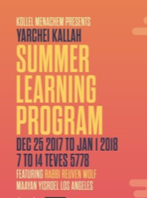 Summer Learning 5778